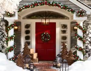 decoración de navidad en fachadas de casas construye hogar