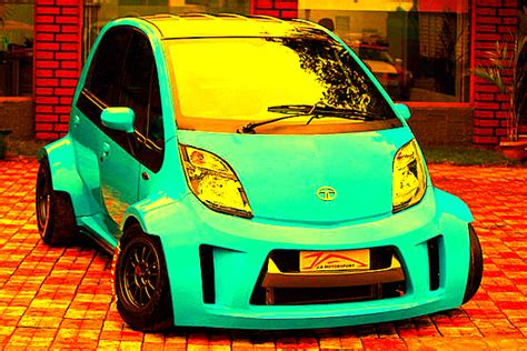 This Is The Tata Nano On Steroids It Goes To From 0100