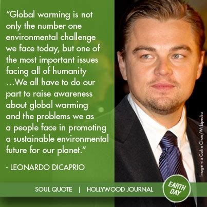 Leonardo Dicaprio Quotes On Global Warming