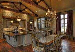 ranch home interiors ranch home rustic kitchen houston by sweetlake interior design llc