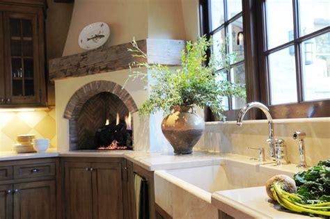 Carmel Stone Cottage-traditional-kitchen-san