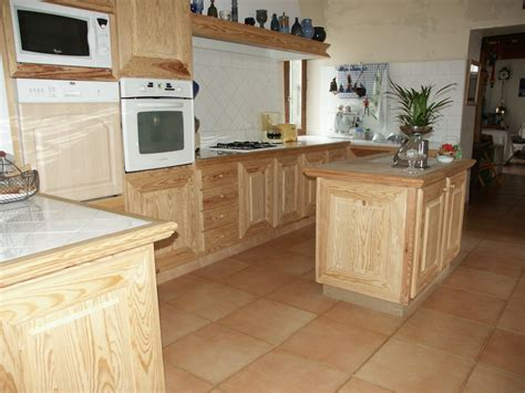 cuisine en pin réalisations en bois