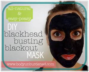 DIY Blackhead Busting Blackout Face Mask - DIY Beauty Diva