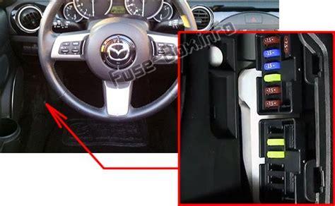 Fuse Mazda Diagram Box Mx 5miat by Mazda Mx 5 Miata Nc 2006 2015