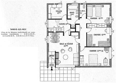 maison 2 chambres amazing plan de maison plain pied 5 chambres 2 plan de
