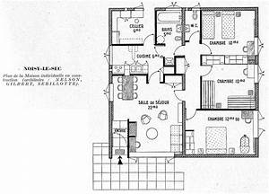 plan de maison 3 chambres With superb plan de maison etage 10 plans de maisons contemporaines catalogue et plans