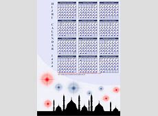 Hijri calendar 1434 Islamic Calendar 201213 Download