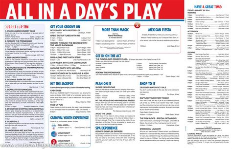 carnival valor 2014 itinerary autos post