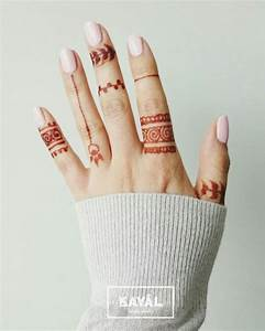 Simple and easy henna tattoo by Ḵayāl henna studio ...