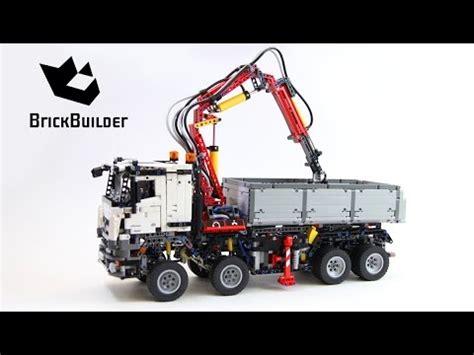 mercedes arocs lego lego technic 42043 mercedes arocs 3245 lego speed build