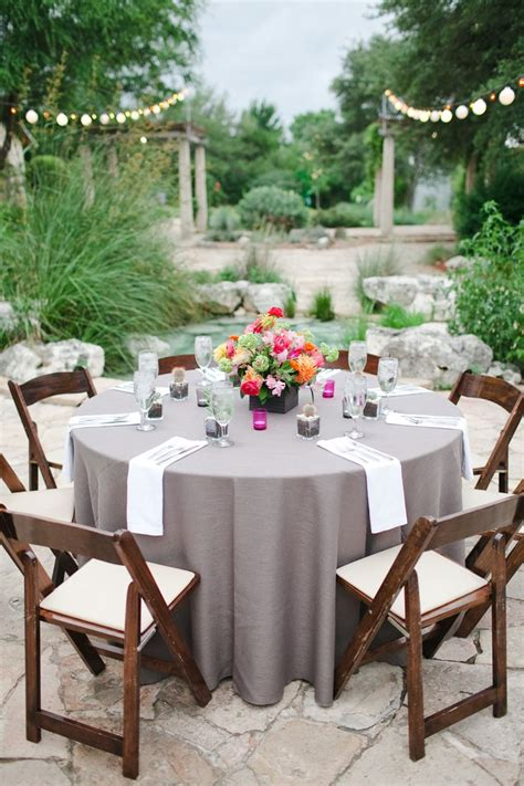 wedding table linens ideas  pinterest wedding