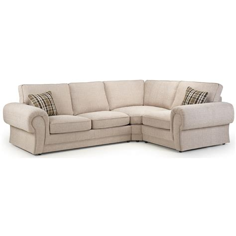 Right Facing Corner Sofa by Wilcot Right Facing Check Corner Sofa