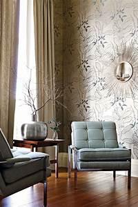 Papier Peint Photo : papier peint d coratif id es de design du salon moderne ~ Melissatoandfro.com Idées de Décoration