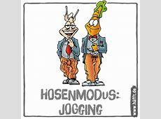 Hosenmodus Jogging – Die 10 besten Jogginghosensprüche
