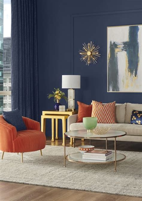 sherwin williams living naval year cor sw colors 6244 paint interior colours trends navy azul colour trend elle calming natural