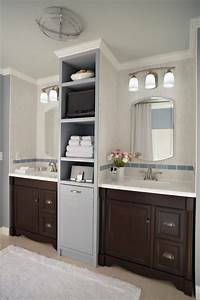 bathroom for two traditional bathroom by lowe39s home With kitchen cabinets lowes with his and hers wall art