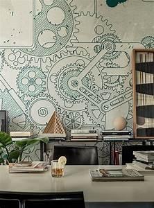 Wall Art Tapete : 5 wow factor wallpaper ideas my warehouse home ~ Eleganceandgraceweddings.com Haus und Dekorationen
