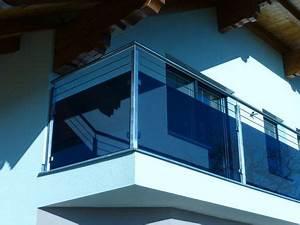 Glas Für Balkongeländer : balkongel nder aus edelstahl f llung aus glas grau mit edelstahlseile terrassen gel nder ~ Sanjose-hotels-ca.com Haus und Dekorationen