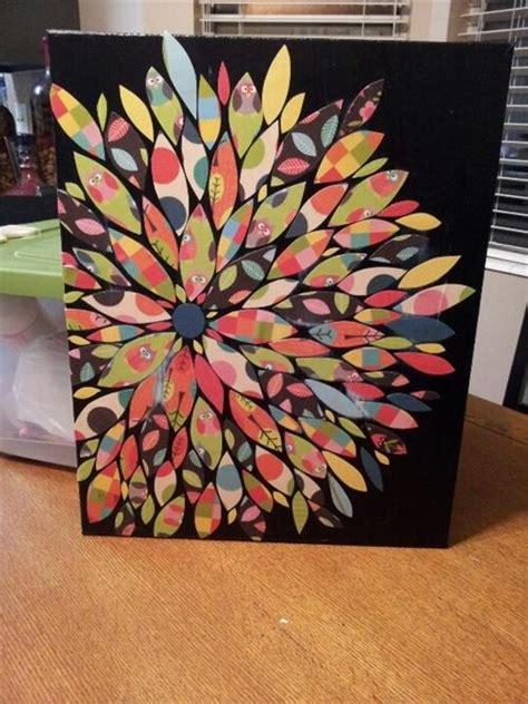 craft ideas on canvas easy diy canvas ideas diy craft projects 3928
