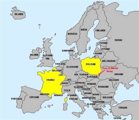 Pologne Carte Europeenne by Infos Sur Pologne Carte Europe Arts Et Voyages
