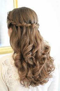 Amelia Garwood Wedding Hair & Make Up Artist Norwich Half up waterfall plait Amelia Garwood