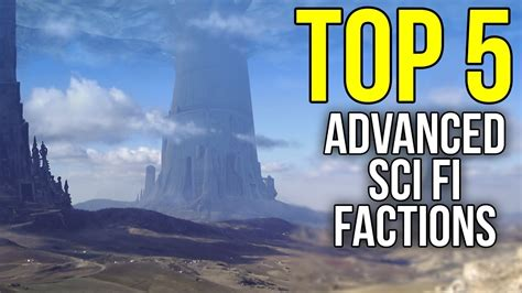 The 5 Most Advanced Races & Factions In Science Fiction