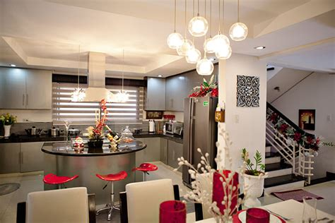 kitchen with island layout maja salvador 39 s kitchen and dining area in antipolo