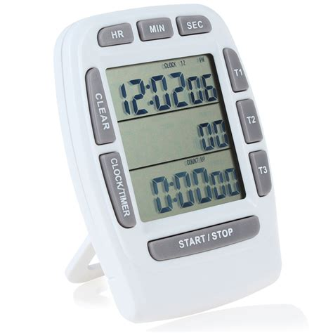 timer cuisine 3 lines lcd digital kitchen timer countdown