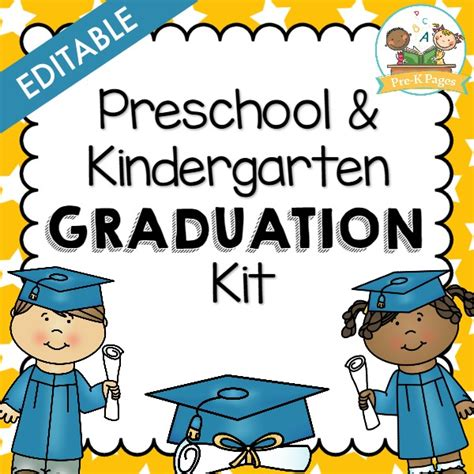 preschool graduation kit pre k pages 463 | graduation cover square