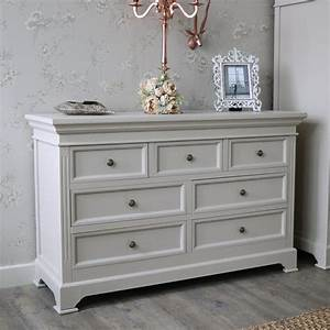 6 Drawer Chest of Drawers - Daventry Grey - Melody Maison®