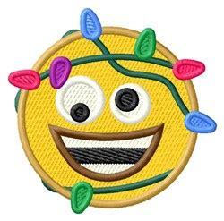 christmas lights emoji lights emoji embroidery designs machine embroidery designs at embroiderydesigns