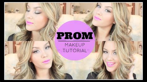 prom makeup tutorial youtube