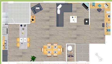 plan cuisine ouverte salle manger eyredeco décoration d 39 intérieur plan