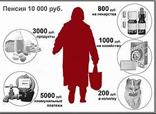 как прожить на пенсию в 10000 рублей