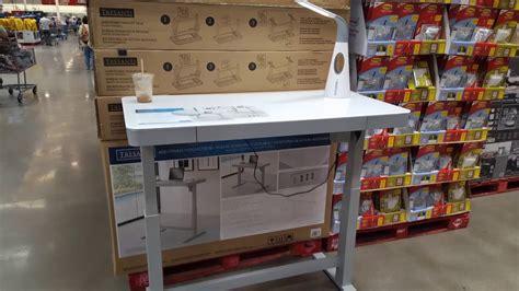 costco desks for sale costco tresanti adjustable height desk 299 youtube
