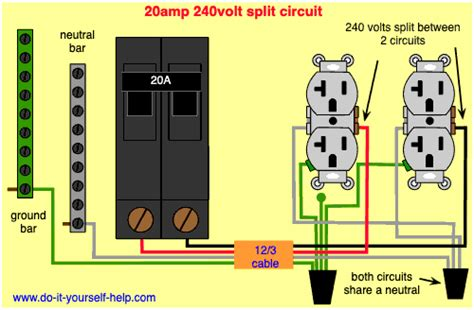 120 Wiring Diagram by Circuit Breaker Wiring Diagrams Do It Yourself Help