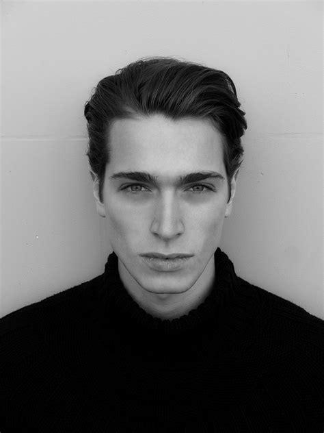 nyc male models shot  beautiful black  white mm
