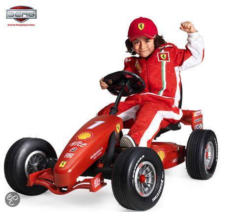 bolcom berg gocar junior buddy ferrari  pedal gokart