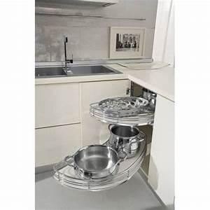 amenagement meuble d39angle accessoires de cuisine With amenagement placard d angle cuisine