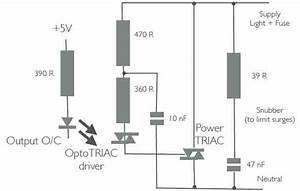 power control With triac circuit