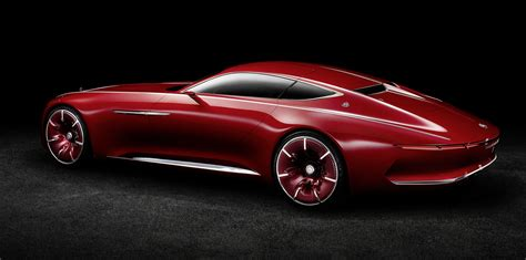 vision mercedes maybach  concept unveiled  detailed