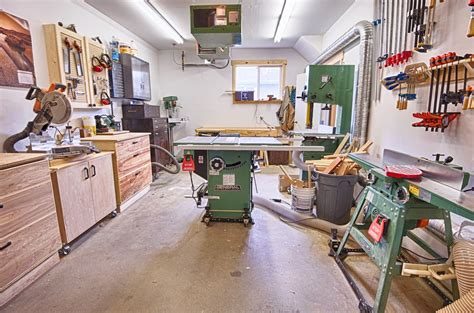 Michael's Garage Workshop  The Wood Whisperer