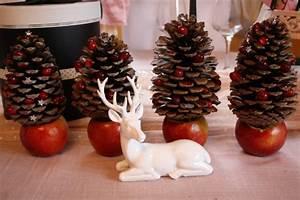Que Faire Avec Des Pommes De Pin Pour Noel : fabriquer deco noel pomme de pin visuel 3 ~ Voncanada.com Idées de Décoration