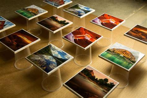 photo coasters  epoxy resin brian