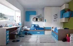 Kinderzimmer Für Zwei Jungs : modernes kinderzimmer einrichten 105 ideen f r m bel sets ~ Michelbontemps.com Haus und Dekorationen