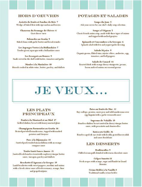 menu cuisine food restaurant menu musthavemenus