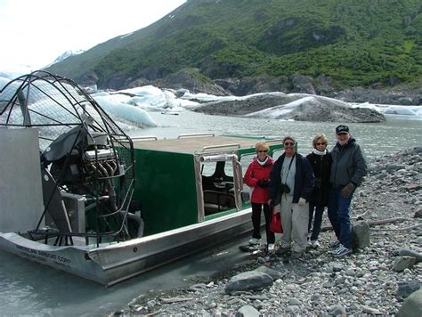 Airboat Knik Glacier by 10 Day Discovery Of Alaska Tour Day Seven Palmer Knik