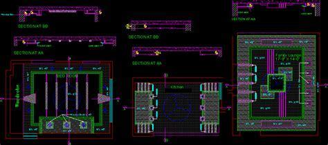 False ceiling details in AutoCAD   CAD download (54.47 KB