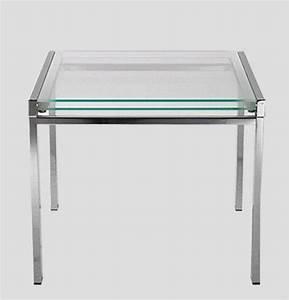 Table En Verre Rectangulaire : galaxy table repas verre extensible rectangulaire pieds metal ~ Teatrodelosmanantiales.com Idées de Décoration