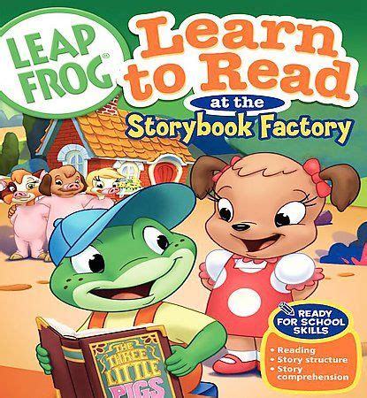 Leapfrog Learn To Read At The Storybook Factory (dvd, 2005) 12569718814 Ebay
